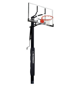 Silverback 54 In-Ground Height Adjustable Basketball System with
